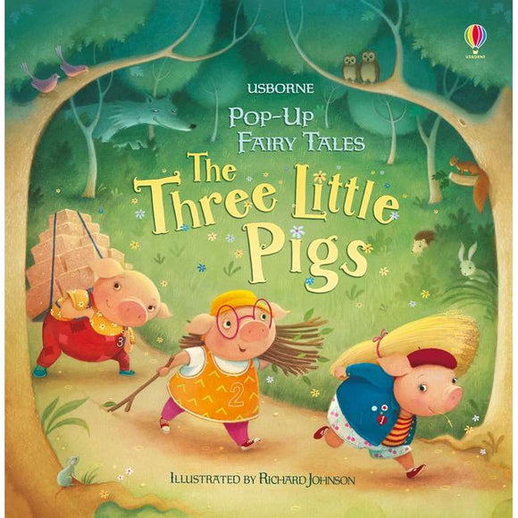 Usborne Pop-Up Three Little Pigs (3Yr&Up, Board Book) 978-0-7945-4658-8