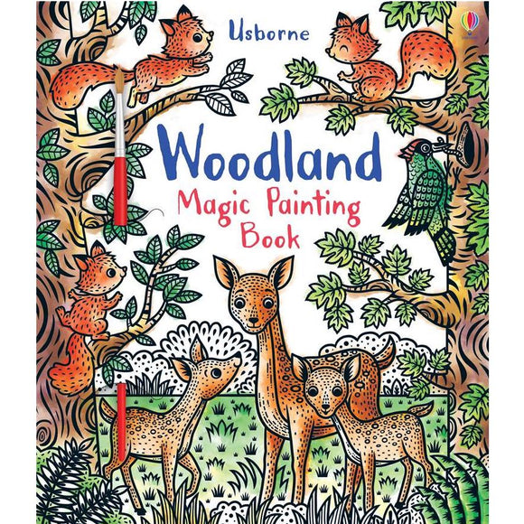 Usborne Woodland Magic Painting (5Yr&Up Paperback) 978-0-7945-4760-8