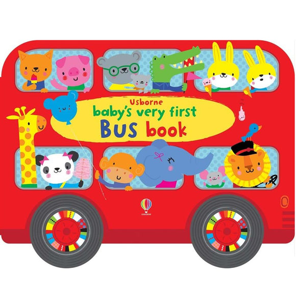 Usborne Baby's Very First Bus Book (1Yr&Up, Board book) 978-0-7945-3997-9