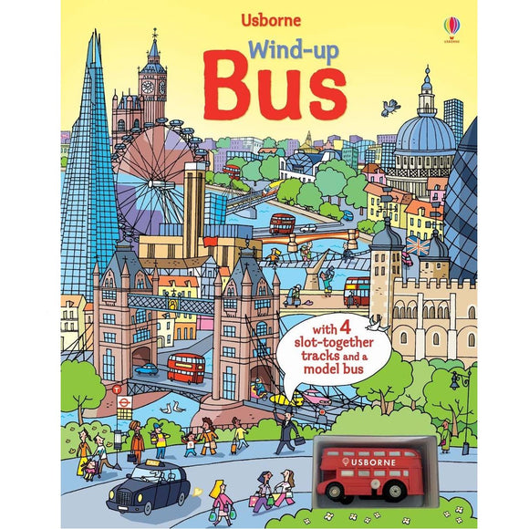 Usborne Wind-Up Bus (3Yr&Up) 978-0-7945-3056-3