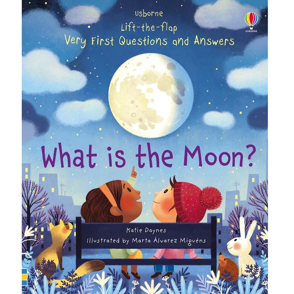 Usborne Lift-the-Flap First Questions and Answers: What is Moon? 2Yr+