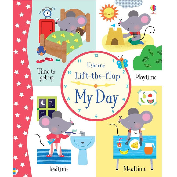 Usborne Lift-The-Flap My Busy Day (4Yr&Up) 978-0-7945-4280-1