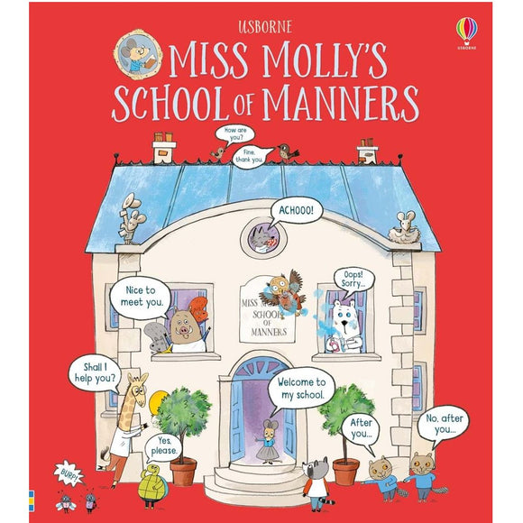 Usborne Miss Molly's School of Manners (3Yr&Up) 978-0-7945-4199-6