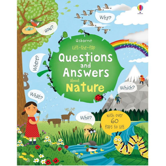 USBORNE Lift-the-Flap Questions and Answers about Nature 4Y+