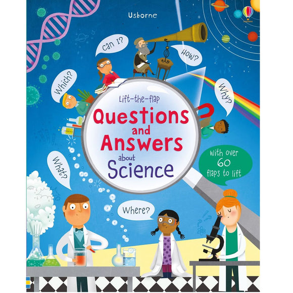 USBORNE Lift-the-Flap Questions and Answers About Science 4Y+