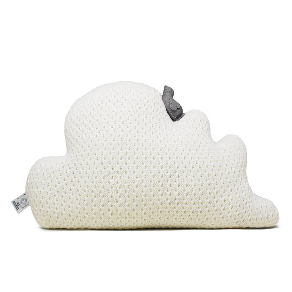 Rian Tricot Cushion CLOUD Off White