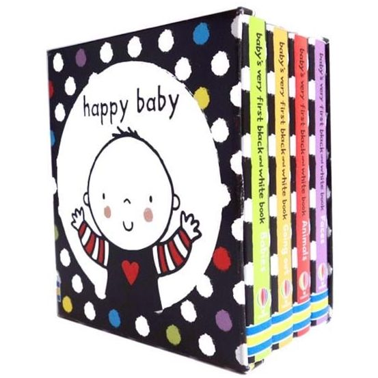 USBORNE Baby's Very First Black and White Library (6M&Up) 978-0-7945-3241-3
