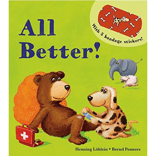 USBORNE All Better! (3-5Y) 978-1-61067-362-4