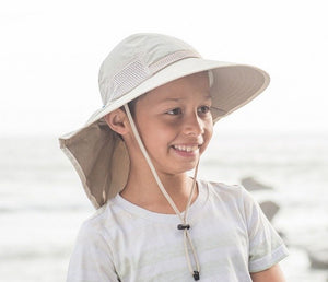 Sunday Afternoons Kids Play Hat in Cream/Sand