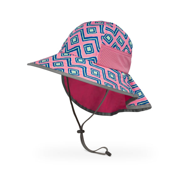 Sunday Afternoons Kids Play Hat in Pink Solar Geoges
