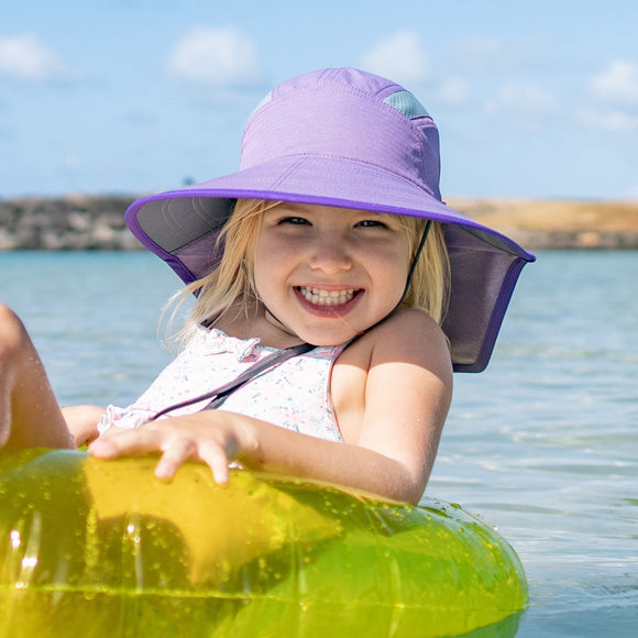 Pre-Order Sunday Afternoons Kids Ultra Adventure Hat in Lavender