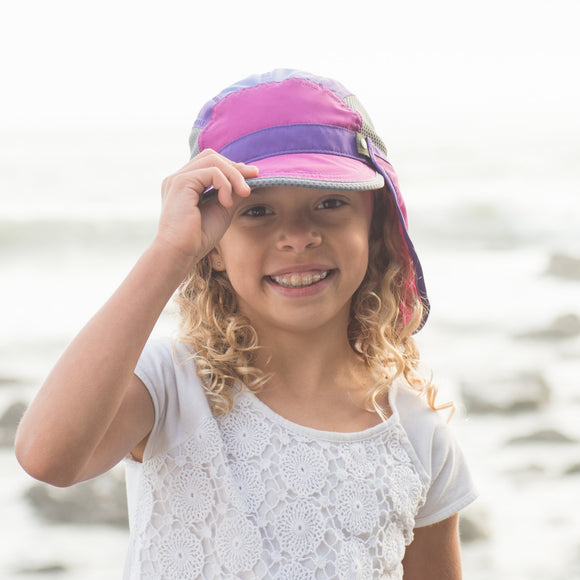 Sunday Afternoons KIDS SUN CHASER CAP, WILD FLOWER