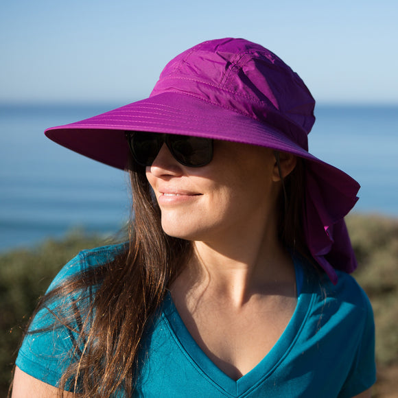 Sunday Afternoons Sundancer Women's Hat, Amethyst/Amethyst