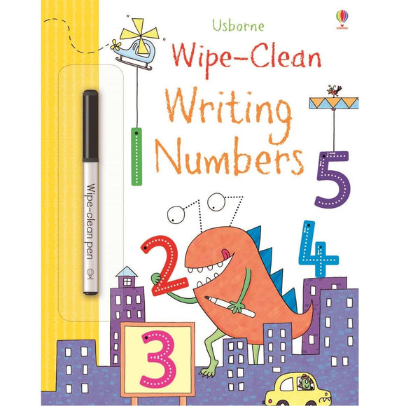 USBORNE Wipe-Clean Writing Numbers (4Y&Up)