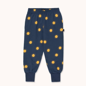 "TINYCOTTONS ""Sun"" SWEATPANT in light navy/yellow 104"