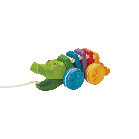 Plan Toys 1416 Rainbow Alligator 12M+
