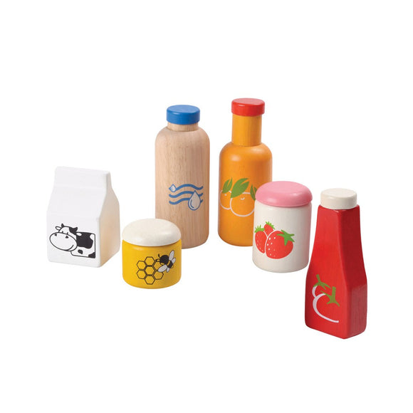 Plan Toys 3432 Food & Beverage Set 2Y+