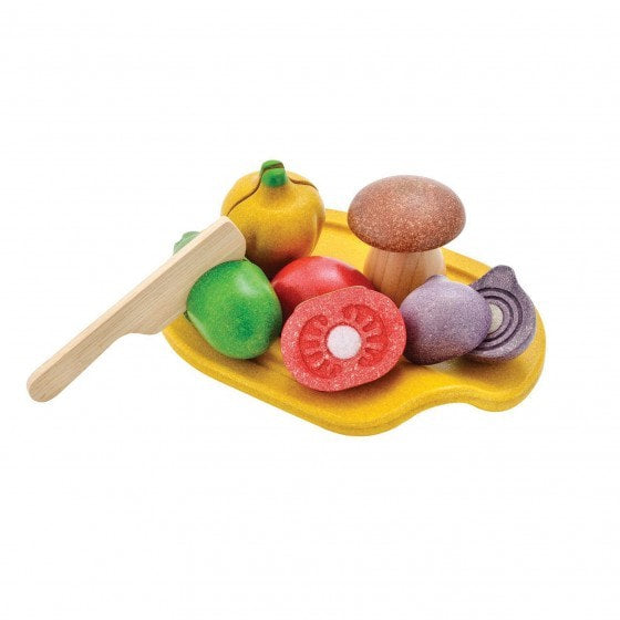 Plan Toys 3601 Assorted Vegetable Set 18M+