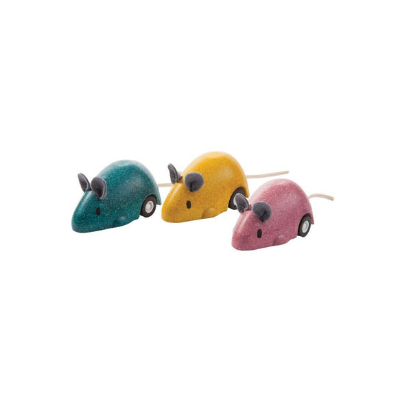 Plan Toys 4611 Moving Mouse 3Y+ (each)