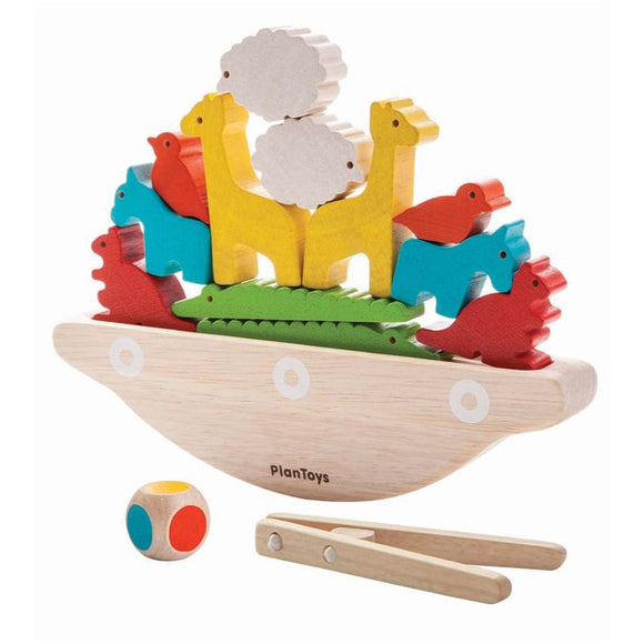 Plan Toys 5136 Balancing Boat 3Y+ (1.2 x 7.6 x 2.2 in)
