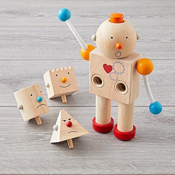 Plan Toys 5183 Build-a-robot 3Y+