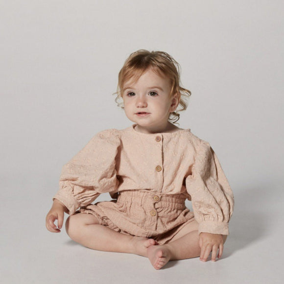 Yellowpelota Violet Blouse in Pink