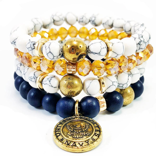 THE MICHELLE BRACELET STACK