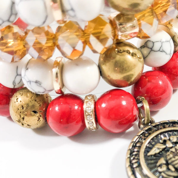 THE HOLLY BRACELET STACK