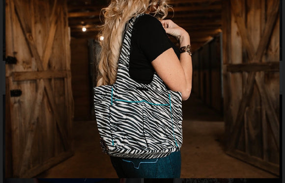 Ariat Zebra Purse