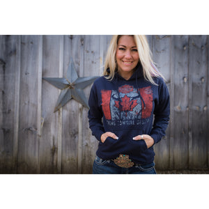 KCD Canada Flag Hoodie - Cowgirls