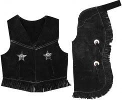 Childs Sweade Vest and Chaps