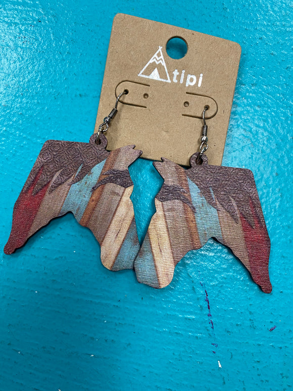 KCD Wood Earrings