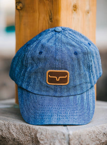 Kimes Leather Patch Hat