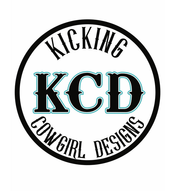 Kicking Cowgirl Designs Stickers