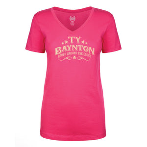 Ty Baynton Ladies Fitted Vneck Tee