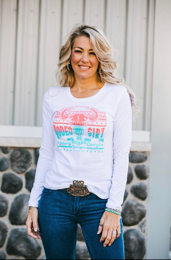 KCD long Sleeve Rodeo Girl