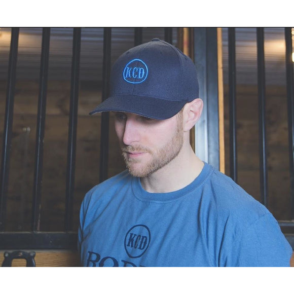 KCD Nicky Logo Hat - Blue/Blue