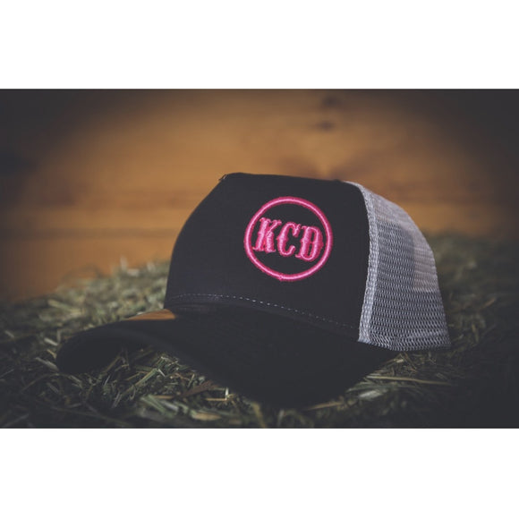 KCD Nicky Logo Hat - Pink/Black
