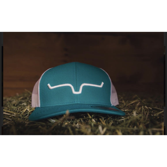 Kimes Ranch Hat - Turquoise/White