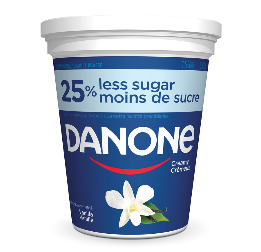 Yogurt - Vanilla 1.5% 650 g