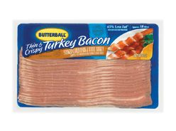 Turkey - Bacon 12 ct Frz 375 G
