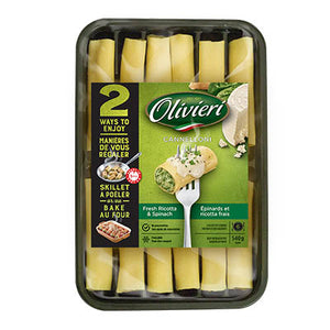 Spinach and Cheese Cannelloni Frozen