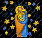 Christmas 322 - Mary did you know? Mary Joseph Baby Jesus  - Sublimation Transfer Set/Ready To Press Sublimation Transfer