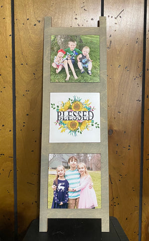 Sublimation Photo Ladder- Complete Set- Ready to Press - Great easy gift!