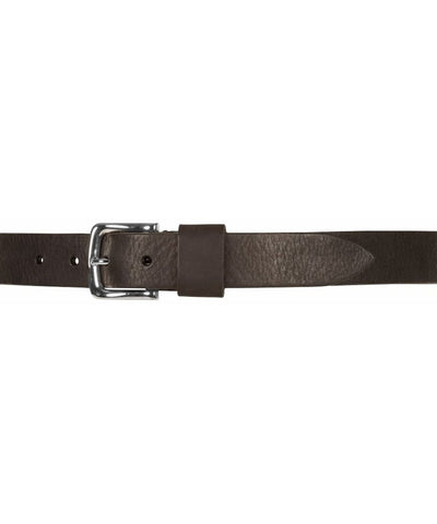 Jeans Belt - Bælte - Brown - Læder - Depeche