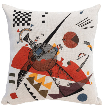 Orange - Kandinsky - Pude - Poulin Design