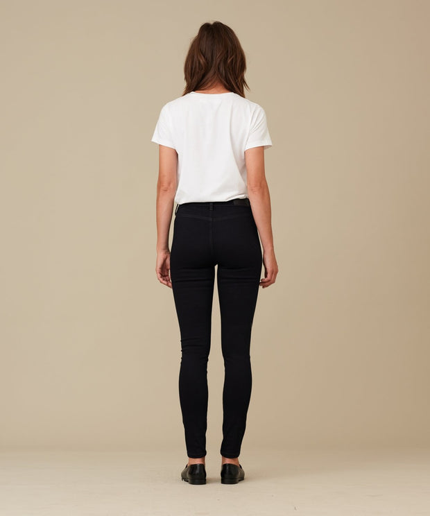 Anne Lise - Leggings - Wash Super Satin Indigo - Jeans - Indigo - Pieszak