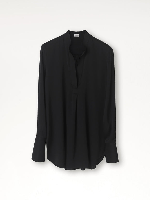 Mabillon - Bluse - Sort - by Malene Birger