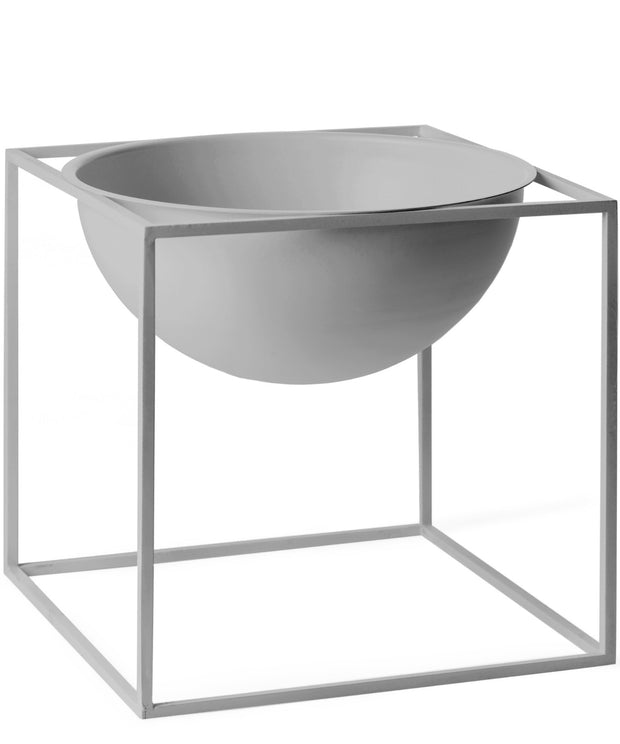 Kubus Bowl - Stor - Cool Grey - by Lassen