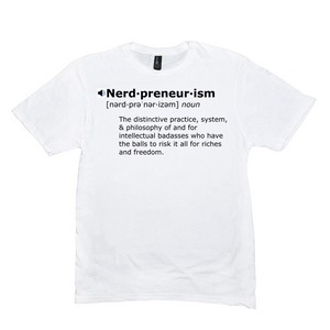 Nerdpreneurism Definition T-Shirt